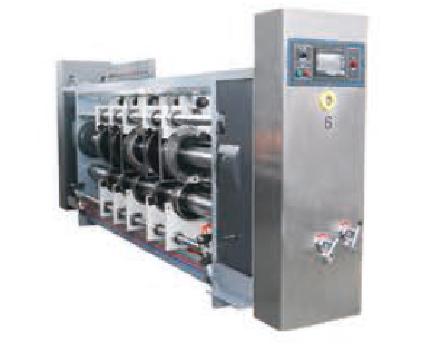 高速水墨印刷开槽模切机-开槽单元